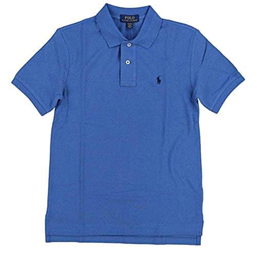 ys Toddlers Mesh Classic Polo Shirt Bright Blue (2/2T) ()