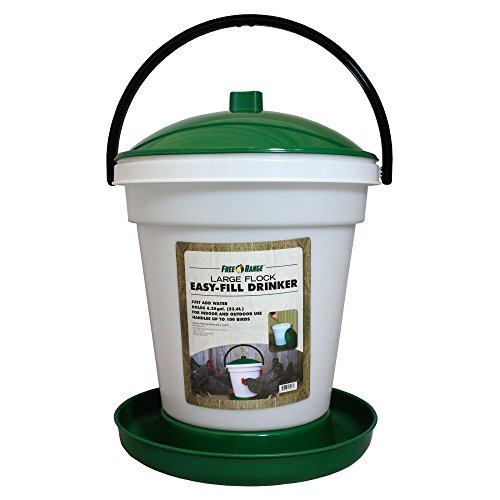 Harris Farms Pet 6.25 Gallon EZ Fill Chicken Water Fountain - 4234 (Easy Fill Drinker)
