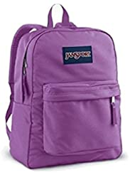 JANSPORT SUPERBREAK BACKPACK SCHOOL BAG - Purple Slick- 8WR (JoyAve)
