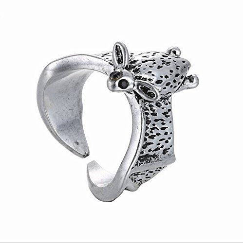2016 Jewelry - 2pcs/lot Fashion Women Men Ring Antique Bat Animal Wrap Ring 2016 Fashion Jewelry Adjustable (Antiqued Silver Color)