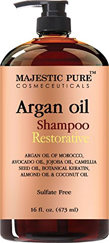 Argan-Oil-Shampoo-from-Majestic-Pure-Offers-Vitamin-Enriched-Gentle-Hair-Restoration-Formula-for-Daily-Use-Sulfate-Free-Moroccan-Oil-Potent-Natural-Ingredients-for-Men-and-Women-16-fl-oz