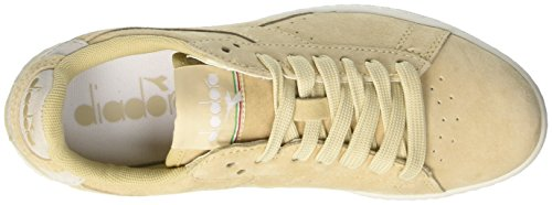fashion Style online Diadora Unisex Adults' Game S Sneaker Low Neck Yellow (Beige Candeggiato) outlet factory outlet pQDCN