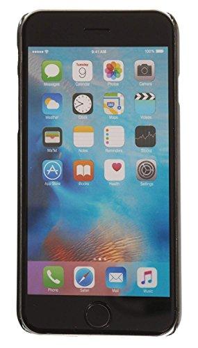 3Q Funda Apple iPhone 6 Funda iPhone 6S Carcasa Novedad Mayo 2016 Diseño Suizo Funda Transparente y Bumper Rosado Transparente Negro