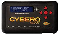 CyberQ Cloud BBQ Temperature Controller with Universal Adaptor for Big Green Egg, Ceramic and Weber Smokey Mountain Cookers made by  fabulous BBQ Guru