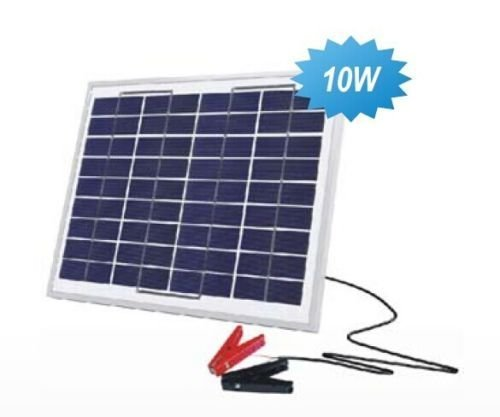 Solarland 10w 12v Solar Battery Trickle Charging Kits Cam...
