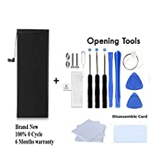 Brand New High Quality Replacement Battery For iPhone 5 1440 mAh 0 Cycle Comes With Free 13 Pieces Repair Tools Complete Kit
