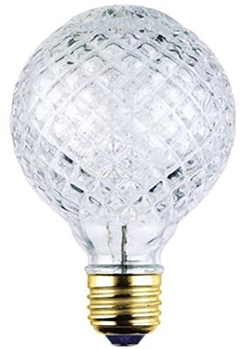 Westinghouse 05017 40 Watt Eco-Halogen G25 Cut Glass Light Bulb (6 Pack)