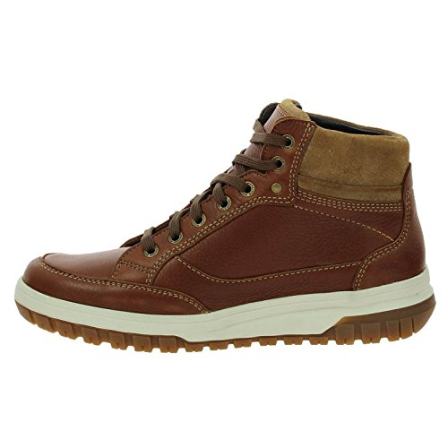 Mephisto Mens Paddy Leather Boots Hazelnut