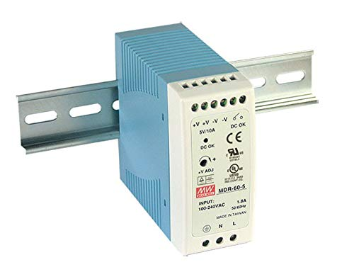 mean Well mdr-60 –  12 AC-DC Industrial DIN rail Power Supply Mean Well Europe B.V. MDR-60-12