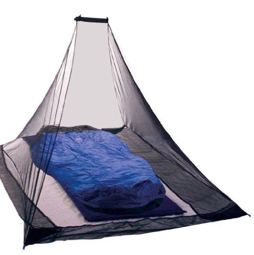 KIKAR Pyramid Single Compact Outdoor Mosquito Net - Black by KIKAR