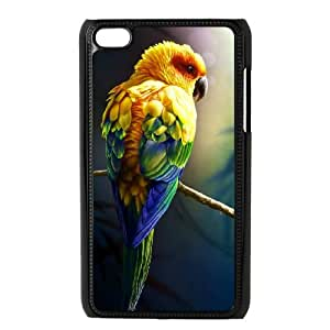 GTROCG Kissing Parrots Bird Phone Case For Ipod Touch 4 [Pattern-4]