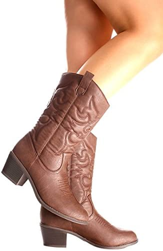 fbfd4394187 Best High Cowboy Boots For Women to Buy in 2018 on Flipboard by ...
