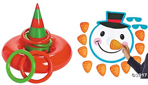 Thing need consider when find snowman ring toss game?
