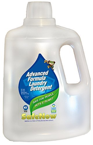 SafeNow Baby Safe Laundry Detergent, Non-toxic, Unscented, Hypoallergenic, Safe Now for People, Pets, & Our Planet, 100 oz. bottles (2-Pack)