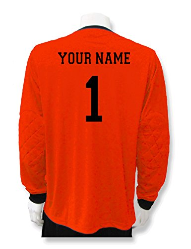 Soccer Goalkeeper Jersey personalized with your name and num