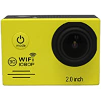 "Boyiya SJ7000 2"" WIFI 1080P HD Action Camera Waterproof Sports DV Pro Camcorder New HOT (Yellow)"