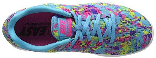 Nike Lunar Tempo 2 Print, Chaussures de Running Compétition Femme Multicolore(Bleu 406)