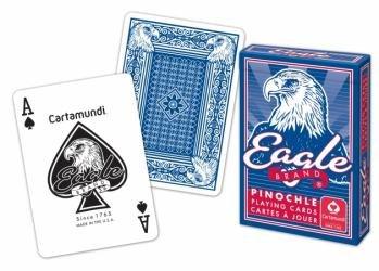 ONE CASE of Pinochle Cards 12 DZ = 144 Decks
