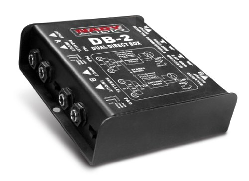 Nady DB-2 Dual Channel Direct Box by Nady