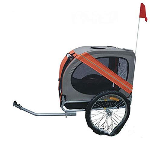 Il rimorchio gonfiabile dell'animale domestico della ruota 20inch, il trasportatore di cane del rimorchio della bicicletta della struttura di alluminio, il grande rimorchio della bici per i cani,B