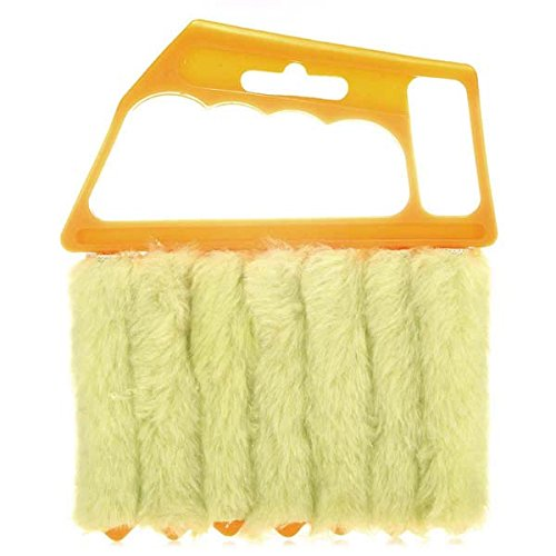 Mini 7 Hand Held Microfiber Venetian Blind Brush Window Air Conditioner Duster Dirt Clean Cleaner