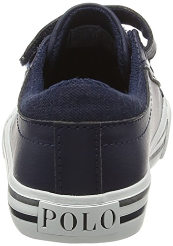 Ralph Lauren Harrison Ez - Zapatillas Niños Azul - Blau (navy tumbled W Cream Pop)