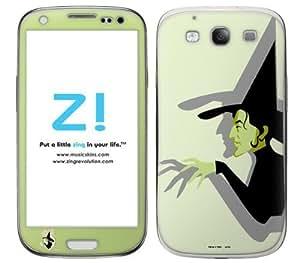 Zing Revolution Wizard of Oz Premium Vinyl Adhesive Skin for Samsung Galaxy S III, Wicked Witch (MS-WOZ50415)