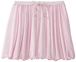 Capezio Big Girls\' Children\'s Collection Circular Pull-On Skirt, Pink, Large