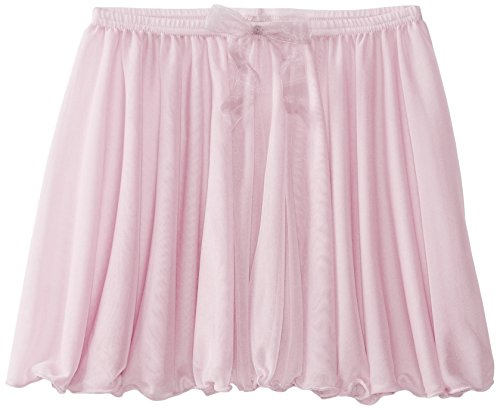 Capezio Big Girls' Children's Collection Circular Pull-On Skirt, Pink, Medium - Skirt Dancewear