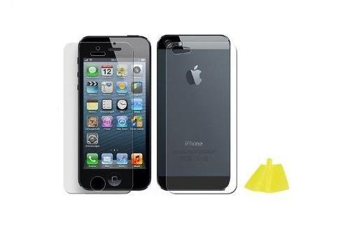Avcibase 4260310647449 Etui mit Logofenstem Ständer für Apple iPhone 5/5S blau