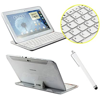 Teclado Bluetooth Wireless Aluminum Keyboard for Samsung Glaxy Note 10.1 Dock