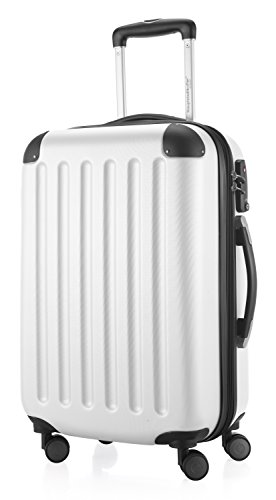 Wheel White Hard (HAUPTSTADTKOFFER Spree Luggage Suitcase Hardside Spinner Trolley Expandable 28¡° TSA White)
