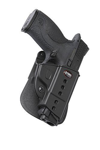 Fobus Standard Holster  Left Hand Hand Paddle SWMPLH S&W M&P 9mm, .40, .45 (compact & full size), SD 9 &40 Left Hand Hand