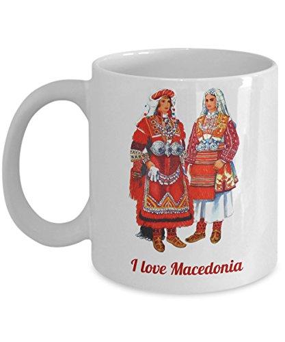 Macedonian Folk Costumes (Macedonian Folk Costume - Coffee Mug)