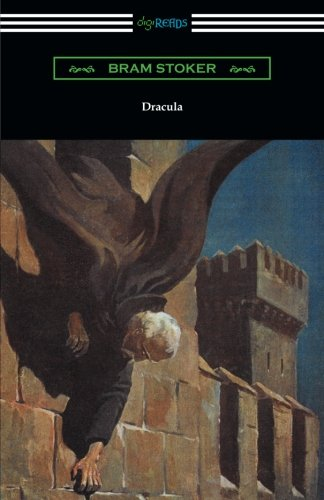 Book cover from Dracula by Bram Stoker