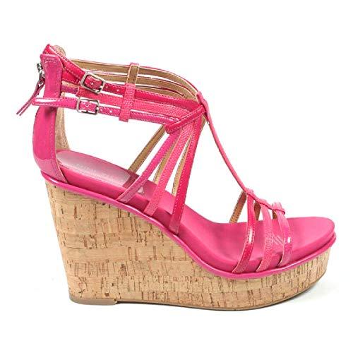 Nwromancing Cuña Tacón Y West 5 Mul Nine Sandalia De 10 Cm Pink Mujer wtXzFpqFx