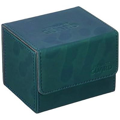 Ultimate Guard Deck Box: Sidewinder 100+ ChromiaSkin Petrol Blue: Toys & Games