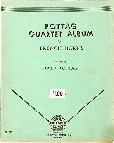 Pottag Quartet Album for French Horns