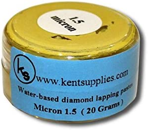 KENT Grit 0.25m Water Based 20 gr Diamond Lapping Paste For Jewellery Lapping and Polishing