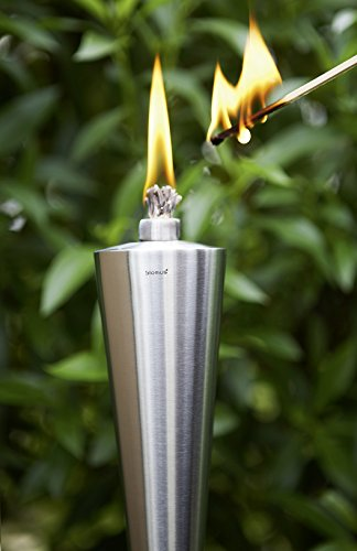 blomus 65007 Torch with Beechwood Stake, Cone Style by Blomus (Image #3)