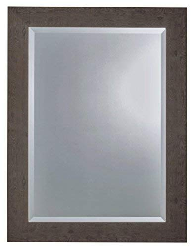 ng Weathered Gray Rectangle Wall Mirror - Made in USA (27.75