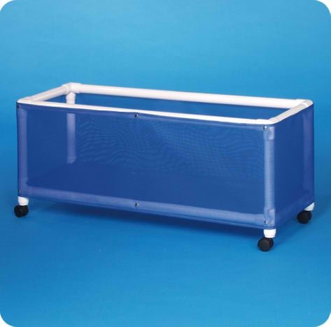 Pool Equipment Storage Bin - ESB511718BM - Blue Mesh Fabric by Innovative Products Unlimited