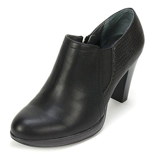 Rialto 'POSIE' Women's Bootie, Black - 11 M (Black And White Booties)