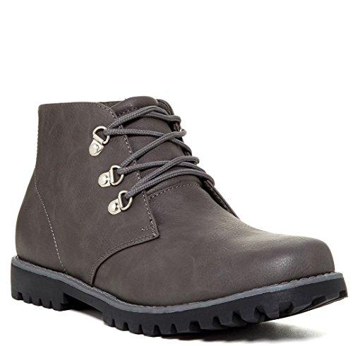 Giraldi Henry Men's Boots, Grey, 12