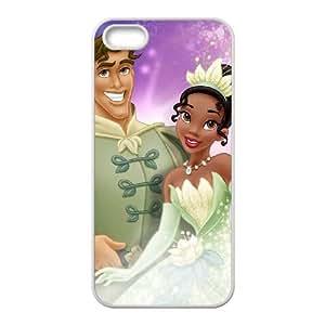 Caso del teléfono celular de la princesa y la rana Tiana y Naveen funda iPhone 4 4s funda F8Z7XVVOMK blanco