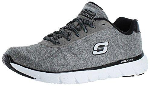 Skechers sóleo La verdad Corta la zapatilla de deporte gris