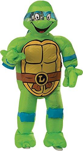 Rubie's Men's Teenage Mutant Ninja Turtles Leonardo Inflatable Costume, As Shown, One Size -