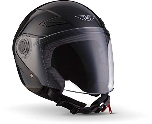 "Moto Helmets® U52 ""Matt Black"" · Jet-Helm · Motorrad-Helm Roller-Helm Scooter-Helm Bobber Mofa-Helm Chopper Retro…"