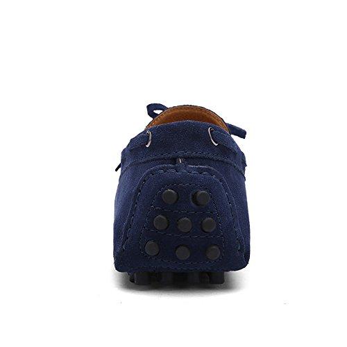 CFP - Botas mocasines hombre, color azul, talla 41 EU