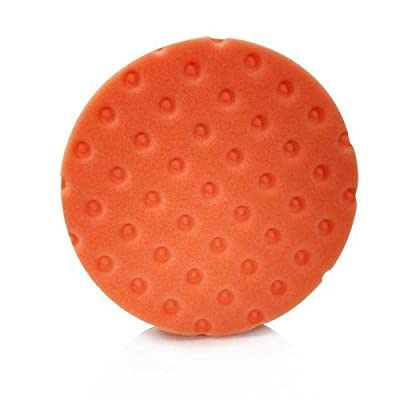 "Lake Country 78-22550 5.5"" CCS Orange Flat Foam Auto Body Cutting Pad, Qty. 1: Home Improvement"